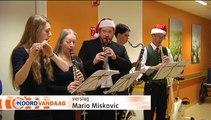 Grunos Postharmonie zorgt voor kerstsfeer in UMCG - RTV Noord