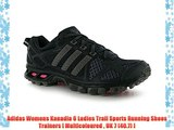Adidas Womens Kanadia 6 Ladies Trail Sports Running Shoes Trainers [ Multicoloured  UK 7 (40.7)