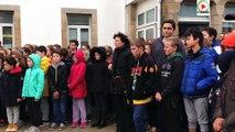 #Morbihan - Quiberon hommage aux victimes attentats Paris - Marseille Bretagne Télé