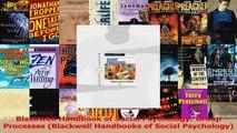Read  Blackwell Handbook of Social Psychology Group Processes Blackwell Handbooks of Social Ebook Free