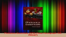 PDF Download  Photonics Essentials SPIE Press Monograph Vol PM167 PDF Online