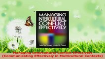 Read  Managing Intercultural Conflict Effectively Communicating Effectively in Multicultural Ebook Free
