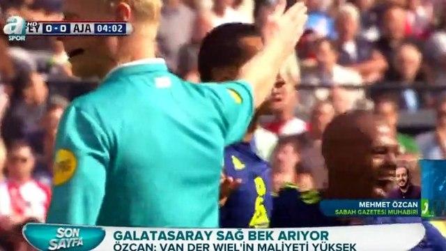 Galatasarayda transfer gelişmeleri. Van Der Wiel, Van Rhijn, Tannane (A Spor - 25 Aralık 2015)