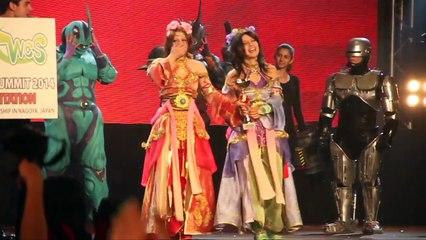 Romics 2013 - Gara cosplay (WCS): Premiazione vincitori