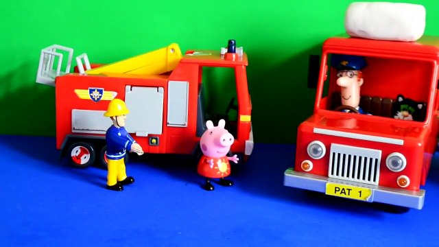 daddy pig Fireman sam peppa pig episode postman pat play-doh special delivery surprise