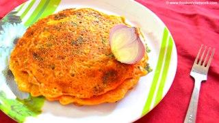 Vegetarian Omelette   Easy Dinner Recipe   Pan Cakes   Indian Recipes-29