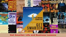 PDF Download  Get Smarter Life and Business Lessons Read Online