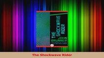 PDF Download  The Shockwave Rider PDF Online