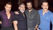 Salman Khan, Aamir Khan, Saif Ali Khan & Celebs At Anil Kapoor's BIRTHDAY PARTY