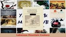 PDF Download  Lebanese Mountain Cookery PDF Online