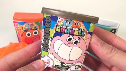 Slime The amazing world of Gumball unboxing surprise peppa pig hello kitty moco