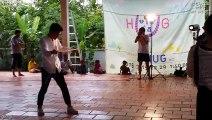 150814 'Joy Joy Joy' 마술 공연 Tonle Batty, 강남중앙교회 대학생 @캄보디아