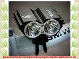 Dealgadgets 5000Lm 2x CREE XM-L U2 LED Head Front Bicycle Lamp Bike Light HeadLight Headlamp