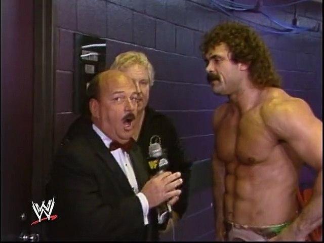 WWF Royal Rumble 1989 - Rick Rude Interview