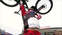 Rider with broken Bike wins Downhill Mountain Bike World Cup