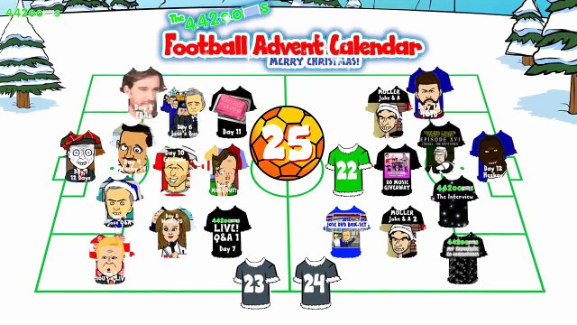 Premier League Wacky Races - Stage 17! (Arsenal 2-1 Man City! Day 22 Football Advent Calendar)