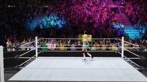 WWE 2K16 Kelly Kelly vs Eve Torres vs Maryse Part 1