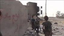 قتلى وجرحى من القوات العراقية وتنظيم الدولة بالرمادي