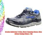 Brooks Addiction 11 Men Men's Running Shoes Bleu (Silver/Indigo/Blue) 7 UK