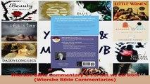 PDF Download  Wiersbe Bible Commentary 2 Vol Set wCD Rom Wiersbe Bible Commentaries Read Online