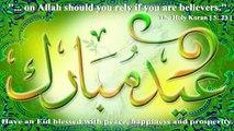 Beautiful Eid Mubarak wishes Message Quotes Eid Mubarak Greeting Card