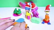 Pocoyó en Navidad Pocoyo Christmas Play Doh Pocoyo Bath Water Toys Float n Squirt with Elly & Pato
