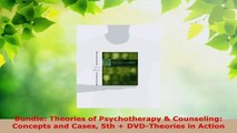 Read  Bundle Theories of Psychotherapy  Counseling Concepts and Cases 5th  DVDTheories in EBooks Online