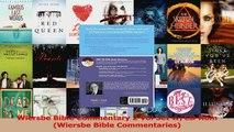 PDF Download  Wiersbe Bible Commentary 2 Vol Set wCD Rom Wiersbe Bible Commentaries PDF Full Ebook