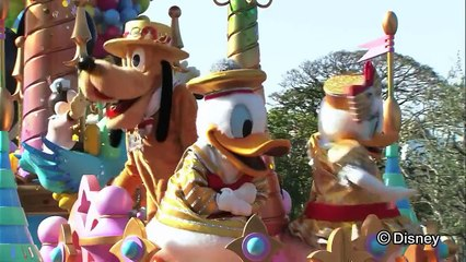 東京ディズニーランド デイパレード 「ハピネス・イズ・ヒア」ダイジェストムービー