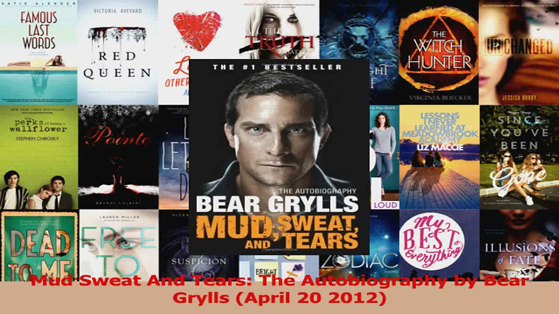 PDF Download  Mud Sweat And Tears The Autobiography by Bear Grylls April 20 2012 Read Online