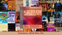 PDF Download  ICD10CM and ICD10PCS Coding Handbook with Answers 2016 Rev Ed Read Full Ebook