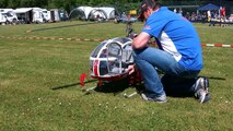GIGANTIC RC HELICOPTER CRASH HUGE RC AGUSTA A-109 SCALE MODEL