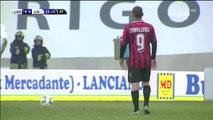 1-0 Guido Marilungo Penalty Goal Italy  Serie B - 27.12.2015, Virtus Lanciano 1-0 Livorno Calcio