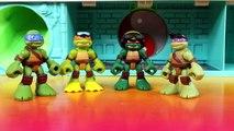 Teenage Mutant Ninja Turtles TMNT Ninja Control Leonardo Super Size Leo Captures Shredder