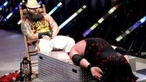WWE RAW 28th DECEMBER 2015 Bray Wyatt Try to Hypnotize Brock Lesnar