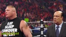 WWE RAW Sting Confronts Brock Lesnar- WWE RAW 28 DECEMBER 2015