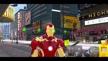 [The Avengers] Iron Man & HULK w/ Custom Yellow Lightning McQueen Disney Cars