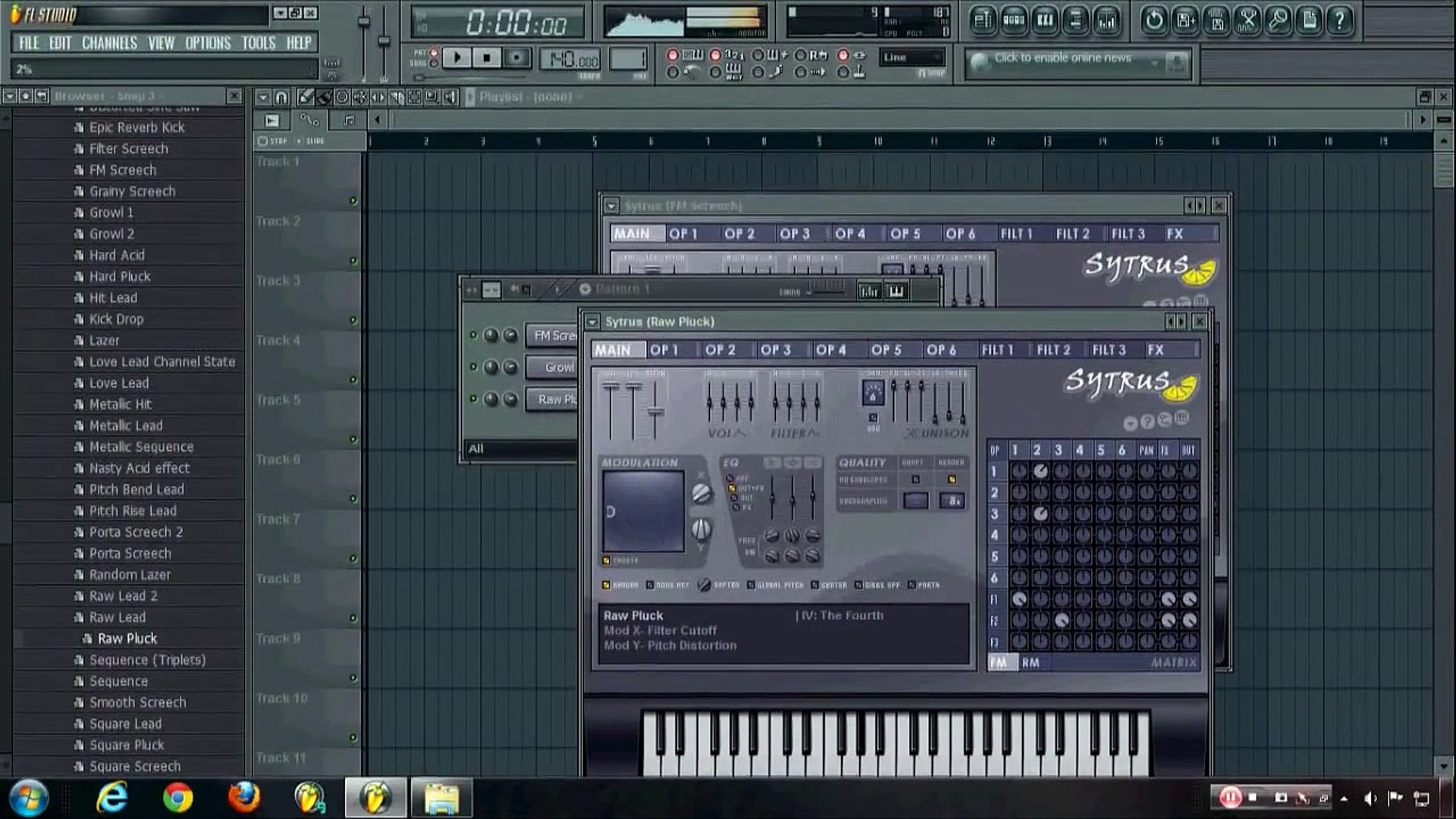FL Studio Sytrus Tutorial: Robotic Growl Synth