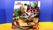 Disney Planes Wild Fire & Rescue Wildfire Rescue Playset Dusty Crophopper Saves Tractor Bu