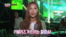 [ENG SUB] 151219 Lovelyz @ Show Champion Backstage