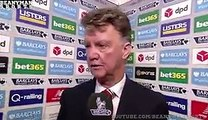 Stoke 2-0 Manchester United - Louis van Gaal Post Match Interview - Players Feeling Pressure
