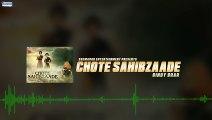 New Punjabi Songs 2015 - Chote Sahibzaade - Bindy Brar [Hd] - latest punjabi songs