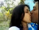 Man and women amazing video kissing