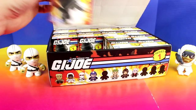 G.I. Joe Loyal Subjects Blind Boxes Mystery Surprise Blind Boxes Series 1 Snake Eyes Storm