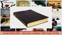 PDF Download  Thompson Chain Reference Bible Style 514black  Large Print KJV  Genuine Leather with PDF Full Ebook