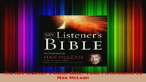 The NIV Listeners Audio Bible Vocal Performance by Max