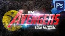 Logo The Avengers Photoshop Tutorial Cs4 Cs5 Cs6 Clip1-8