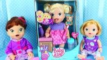 BABY ALIVE Doll Babys New Teeth with Brushy Brushy Baby Eating & Teething Toddler DisneyC