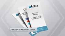 Din Lang Flyer | Flyer Printing  | Online Printing | QPrinty.com