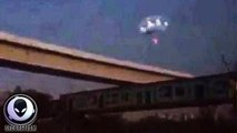 Massive Glowing UFO Appears Over Downtown Houston 11/13/2015